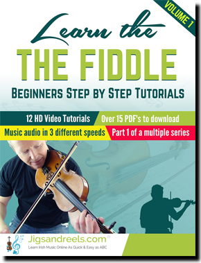 Learn Irish Fiddle ibooks and interactive ebook Irish Tad School