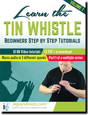 Learn Irish Tin Whistle ibooks and interactive ebook Irish Tad School